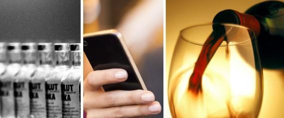 Impostos sobre smartphones e bebidas