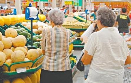 Inflação entre idosos