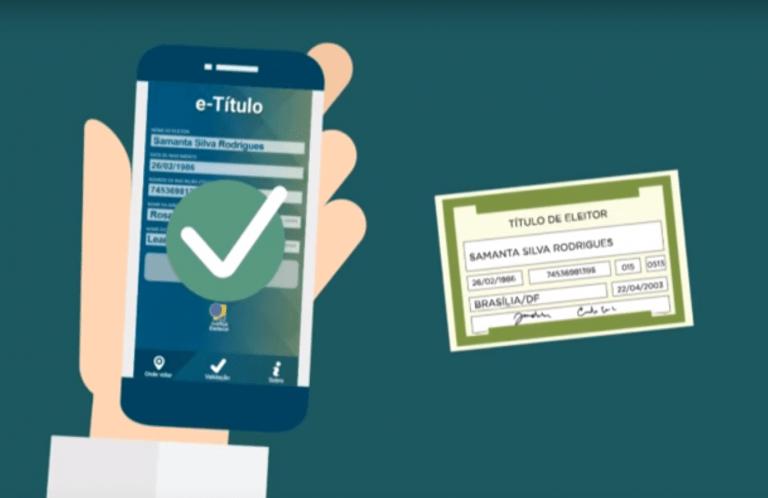 E-Título - Título de Eleitor Digital no Celular
