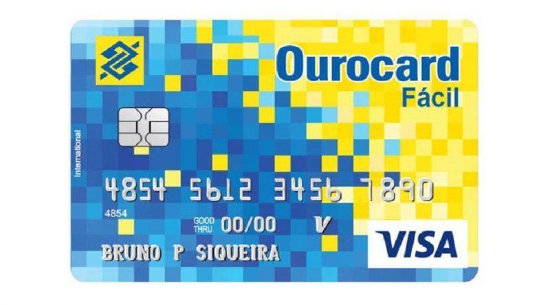 Cartao de credito Ourocard Fácil